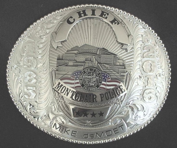 Police Chief Buckle