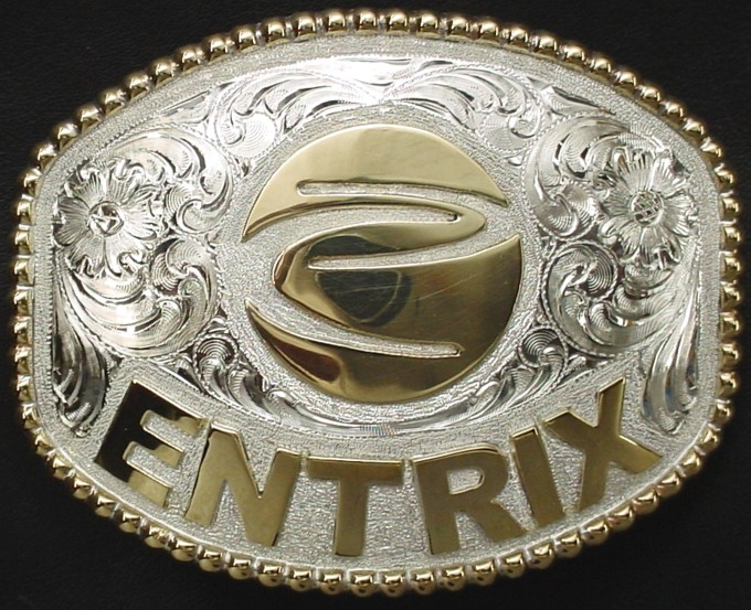 #18 Entrix Logo Buckle