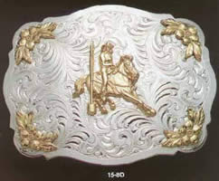 Gymkana Belt Buckle