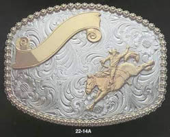 Saddle Bronc Belt Buckle