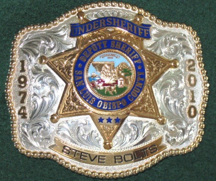 Sheriff's Badge Buckle
